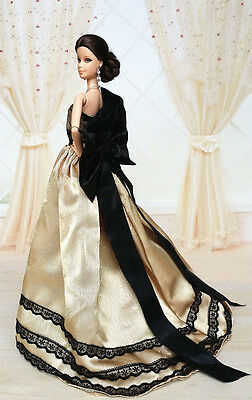 Fashion Royalty Princess Party Dress/Clothes/Gown For Barbie Doll S500P8