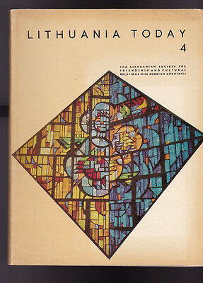 Lithuania Today 4 Booklet 1970 Lithuanian Society for Friendship & Cultural