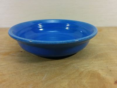 Vintage Meyers California Rainbow Shallow Dish Blue Glaze