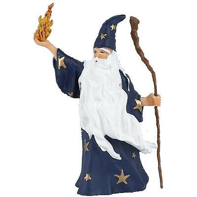 FREE SHIPPING | Papo 39005 Merlin the Magician Fantasy Model - New in Package