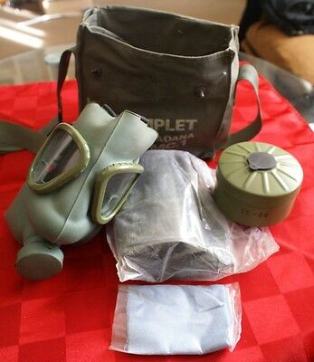 Not used M59 gas mask with filter in the bag with accessories Serbia