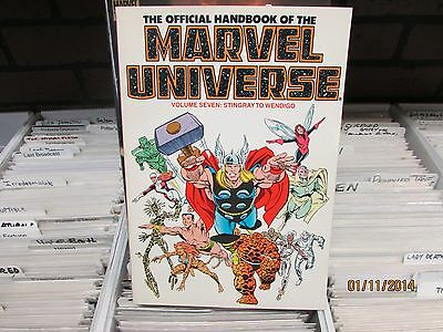 The Official Handbook of the Marvel Universe Vol 7