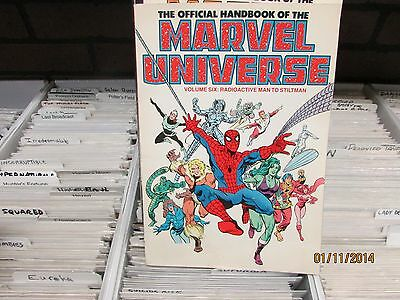 The Official Handbook of the Marvel Universe Vol 6