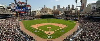 2 TIX 4/6 145A  Detroit Tigers Twins Comerica Park tickets Opening Day