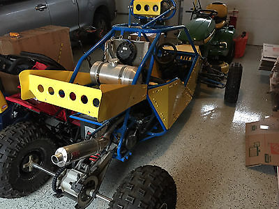 Single Seat Dune Buggy Sold for Parts - 2007 Yamaha Raptor 660R