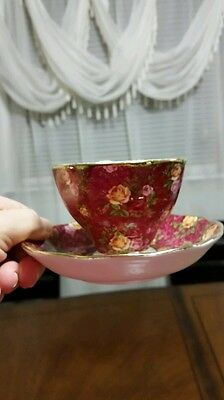 Royal albert old country rose, Ruby Lace, bone China