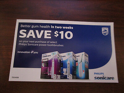 Philips Sonicare $10 Off Coupons Expire 12/31/2015