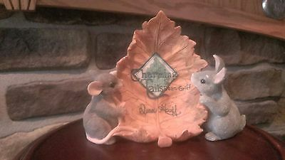 Fitz and Floyd Charming Tails By Dean Griff Rare for Hallmark Store Display Case