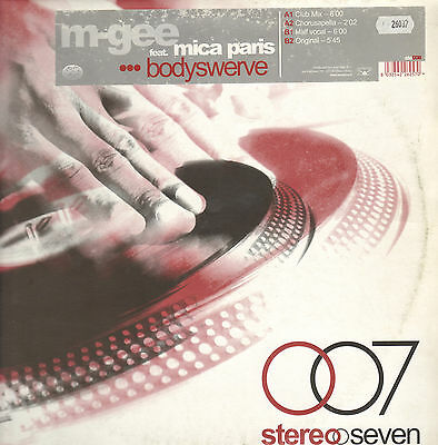 M-GEE - Bodyswerve - Feat. Mica Paris - Stereoseven