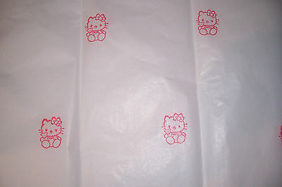 HELLO KITTY TISSUE PAPER Hand Stamped Gr8 for gift giving so K@@L FREE SHIPPING
