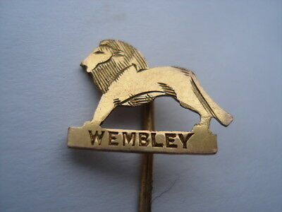 Wembley Exhibition Gilt Souvenir Stick/tie Pin