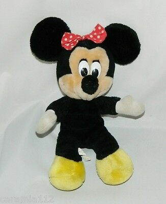 "Disneyland Disney World Minnie Mouse Plush Doll Animal Toy 12.5""  Vintage"