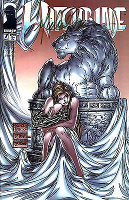 Witchblade #7 Signed By Artist Michael Turner (Lg)