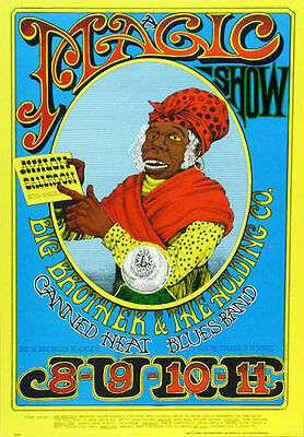 FD # 65-2 Big Brother Family Dog Avalon Ballroom Poster FD65 Yellow Rick Griffin
