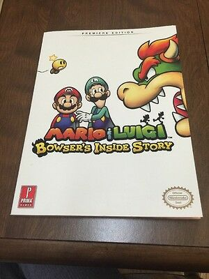 Mario And Luigi: Bowser's Inside Story Prima Offical Game Guide