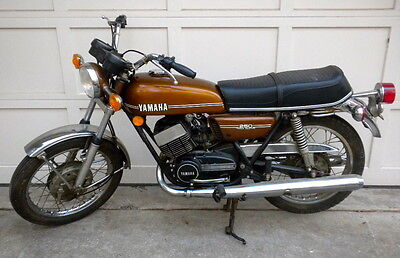 Yamaha : Other 1974 yamaha rd 250 w just 396 miles original everything including tires great