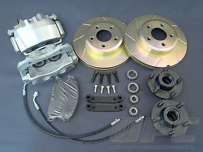 BIG BRAKES VALIANT MOPAR CHARGER FITS ALL VH VG 1970-81 NO RESERVE TWIN PISTON