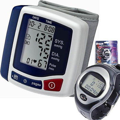 Digital Blood Pressure Monitor Wrist Type with Heart Rate Monitor