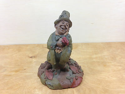 Retired 1987 Tom Clark Danny Gnome Figurine Hand Signed in 1992 by Tom Clark