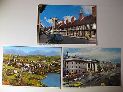 Postcard IRELAND Amazing Scenic View Lot of 3 Vintage Collectible Post Cards #B