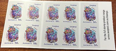2007 signs of the zodiac Taurus  stamps  (MUH)