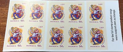 2007 signs of the zodiac Leo  stamps  (MUH)
