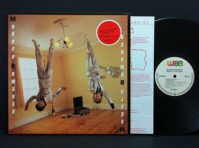 MODERN ROMANCE Trick Of The Light LP nMINT GER 1983 WEA Records w/ Insert