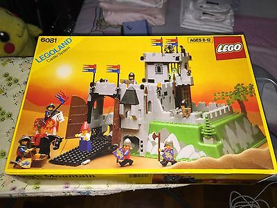 LEGO SYSTEM CASTLE 6081 KING'S MOUNTAIN FORTRESS BRAND NEW SEALED BOX RARE