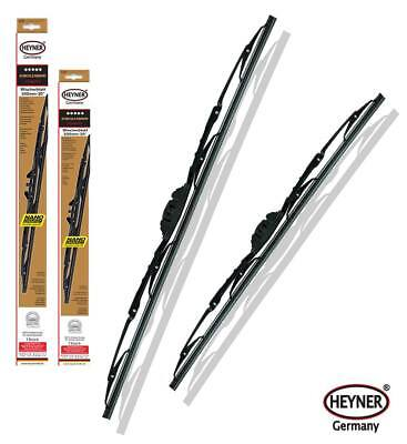 MAZDA 6 2008 - 2012 HEYNER front windscreen WIPER BLADES 24''16'' set of 2