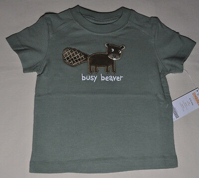 Gymboree baby infant boy busy beaver t shirt 6-12 months NWT top boys
