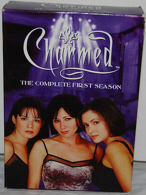 Charmed The Complete First Season 1st DVD 6 Disc Set 2005 Box Set Kretchmer