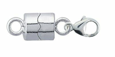 Strong 925 Sterling Silver Magnetic Clasp Necklace Bracelet FREE delivery,z