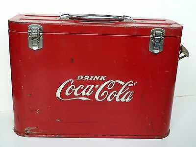 Coca-Cola Airline Coke Bottle Cooler-c. late 1940's-early 50's vintage original!
