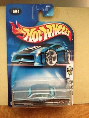 HOT WHEELS CHEVY IMPALA 1964; 2004 FIRST EDITIONS 4/100