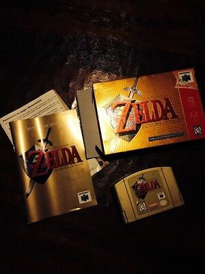 The Legend of Zelda: Ocarina of Time  (Nintendo 64, 1998) Collector's Edition