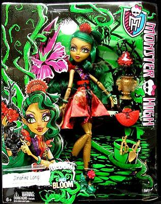 NEW! Monster High JINAFIRE LONG Gloom and Bloom Series NEW IN BOX!
