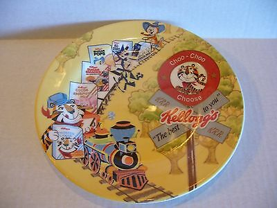 Kellogg's Tony The Tiger Cereal Box Collector Plate Train Marked Vintage 2006