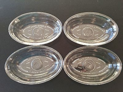 4 Vintage MCKEE Glass Individual CASSEROLE DISH A Good Deal For A Tasty Meal Set
