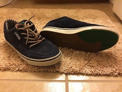 Ipath Size 10 Blue Boat Skate Shoes