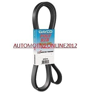 Ford Falcon Fan Belt Suits All 4.0L 6Cyl Au Series 1,2&3 1998-2002 Non Vct