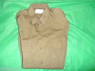 Idf New Shirt Zahal Military Issue **NOT COMMERCIAL** Class A Israel Army Label