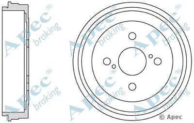 1x OE Quality Replacement Rear Axle Apec Brake Drum 6 Stud 254mm