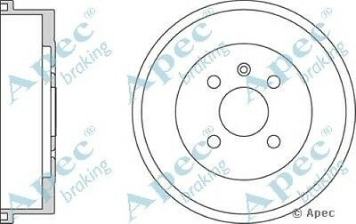 2x OE Quality Replacement Rear Axle Apec Brake Drums 4 Stud 230mm