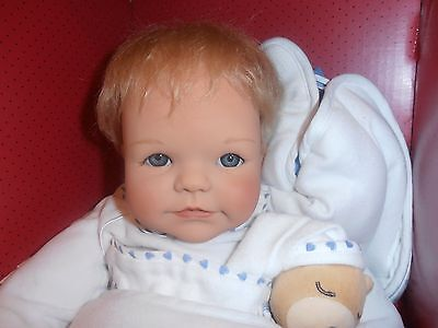 "2002 Gotz Germany 23"" 60cm Marlos Toddler Baby Doll Didy Jacobsen Sculpt LE"