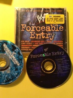 WWF Forceable Entry by Various Artists (CD, Mar-2002,Best buy exclusive 2 disc)