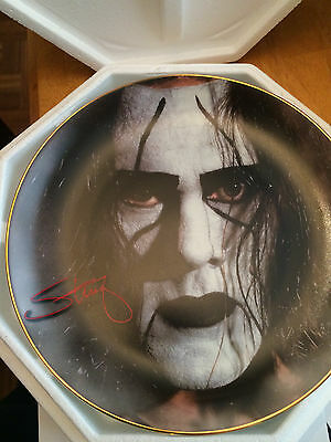 Sting WCW  the White Knight Hamilton Collection Plate Number 2482a