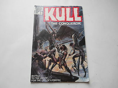 KULL THE CONQUEROR   MARVEL COMICS GROUP # 2 JULY 1983