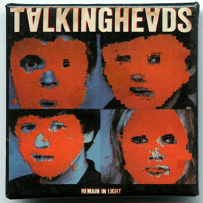 Talking Heads Album Cover Pin