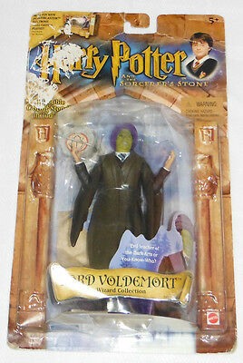Lord Voldemort Green Face Harry Potter Sorcerer's Stone 2001 Wizard New