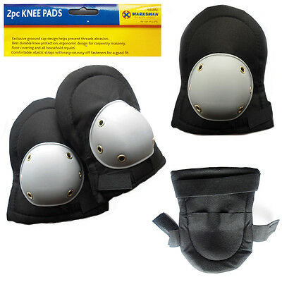 Pair of Knee Pads Safety Protection Guard Padded Industrial Hard Work DIY Caps
